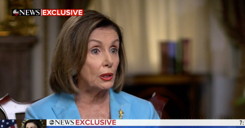Pelosi Claims Schiff 'Did not make up' His Trump-Ukraine Call 'Parody'