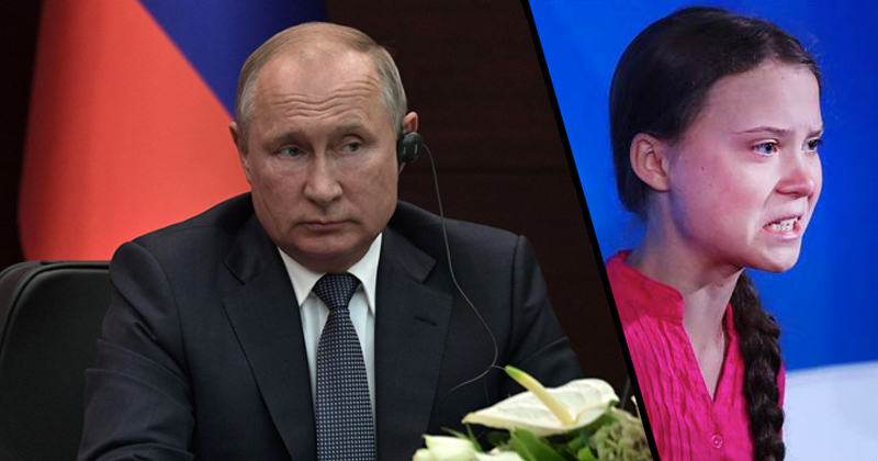 Putin: 'I don't share the common excitement about the speech by Greta Thunberg'