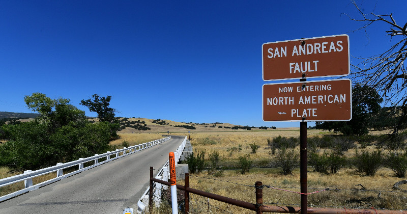 Fear of catastrophic quake grows in California as dormant fault line moves for 1st time in 500yrs