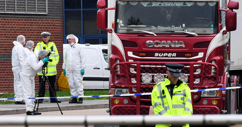 All 39 Bodies Found in UK-Bound Truck Were Chinese Nationals