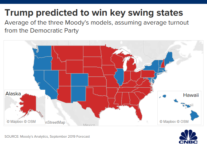 trump-map.1571153976885 Moody's: Trump Will Cruise To Victory in 2020 [your]NEWS