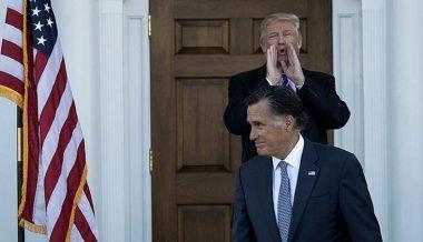 Trump Calls Romney A 'Pompous' 'Ass' Over Condemnation Of Ukraine Call
