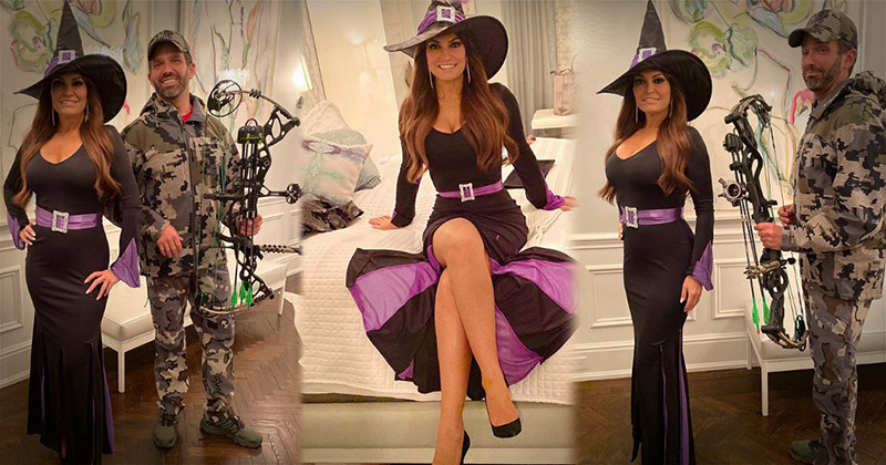 Don Jr. & Kimberly Guilfoyle Troll Liberals With Witch-Hunt Costumes