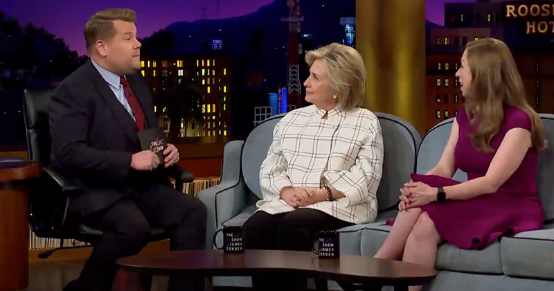 """Hillary Clinton Says """"Possessed"""" Giuliani Acts """"Like Aliens Seized His Brain"""""""