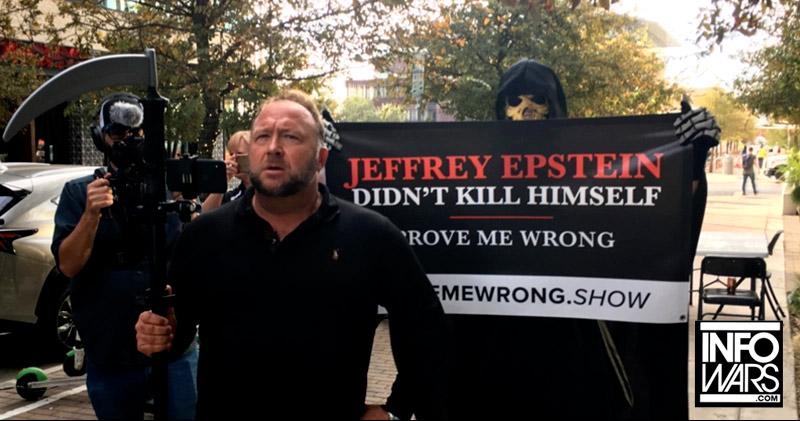 Livestream: Jeffrey Epstein Didn't Kill Himself - Prove Alex Jones Wrong!