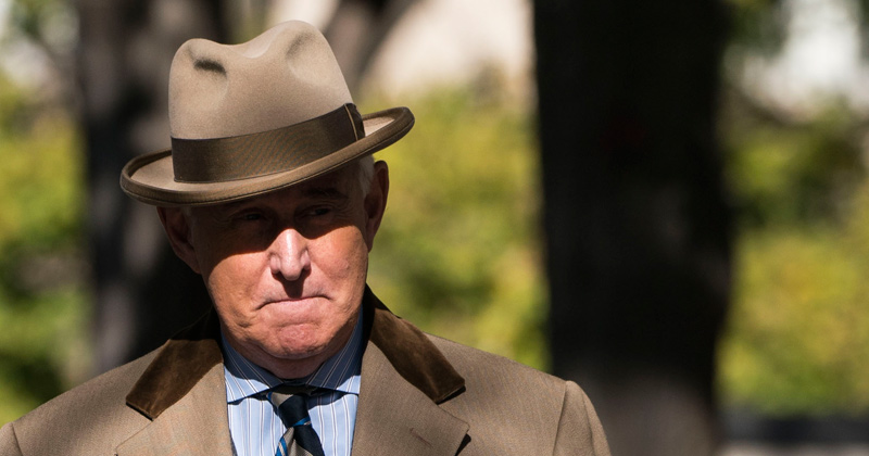 """""""Free Roger Stone!"""" Roger's Emergency Message To America"""