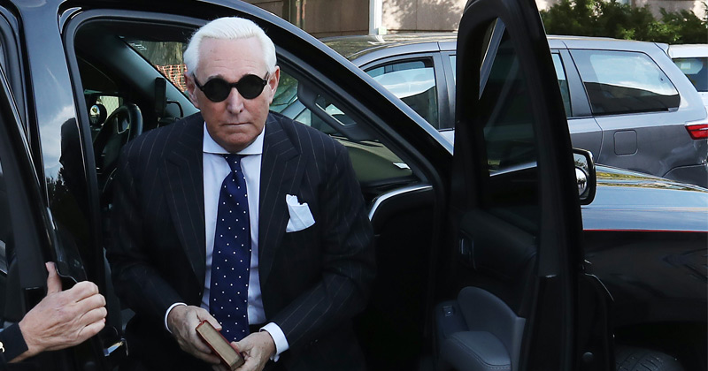 WarRoom: Roger Stone Found Guilty on All Counts, Faces 50 Years For Thought Crime