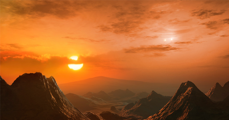 Exoplanet axis study boosts hopes of complex life, just not next door