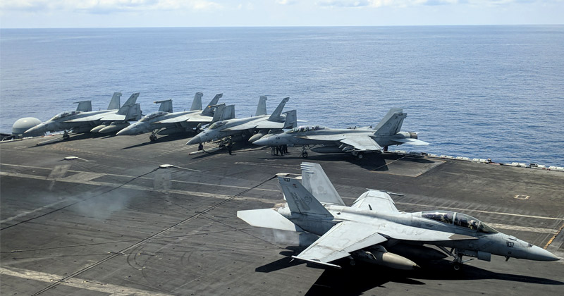 Furious China Shadows Two US Warships Sailing Through Disputed Waters, Warns Them To Leave