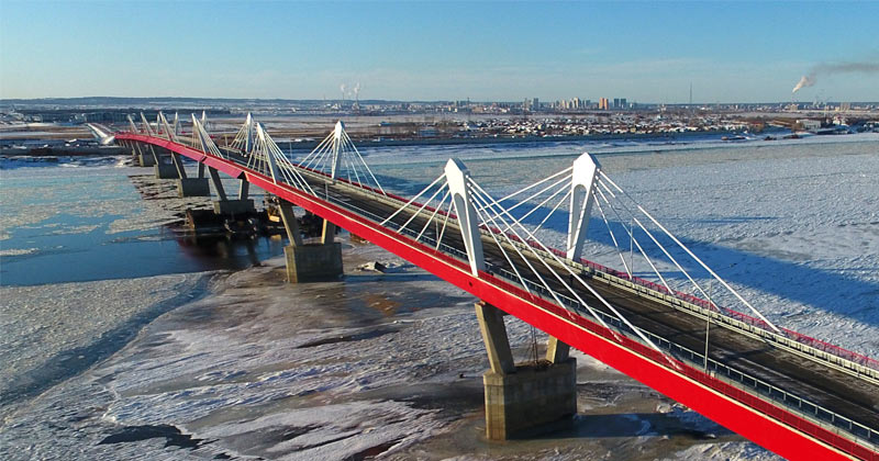 Russia & China complete their first cross-border mega highway bridge