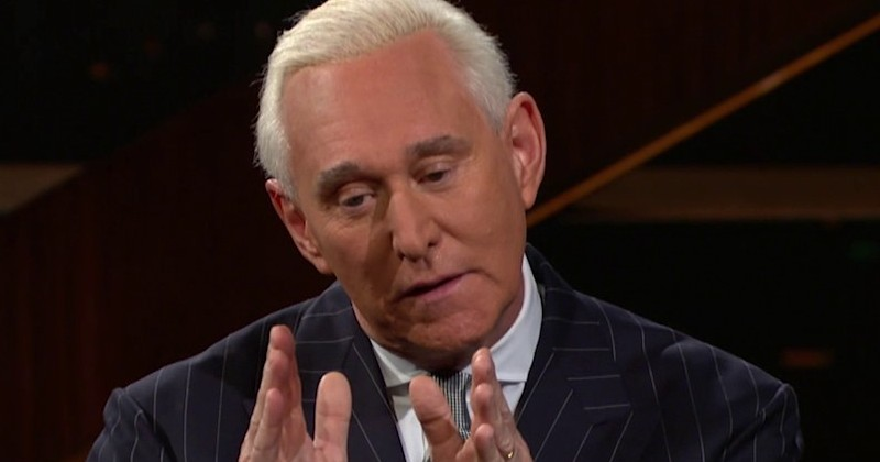 Roger Stone Fears He's Going to be 'Epsteined' in Jail