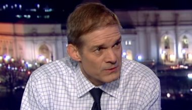 Rep. Jim Jordan: Impeachment is About Democrats Not Accepting Election Result