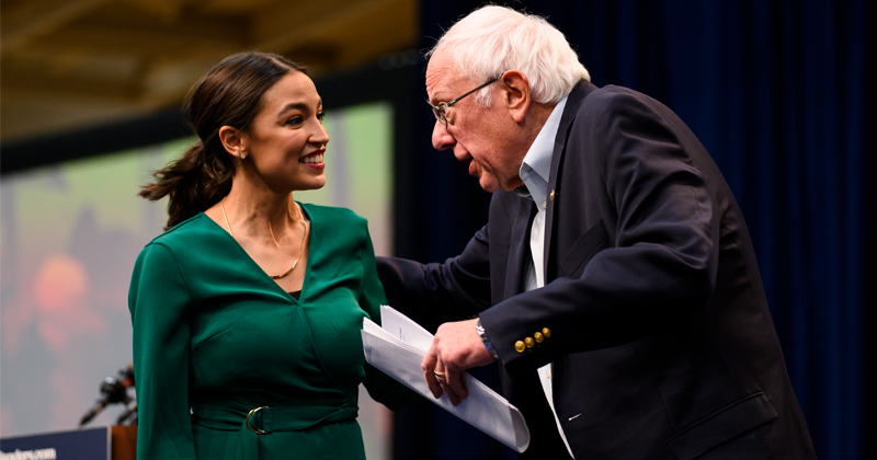 Bernie Sanders, AOC Launch Another Green New Deal