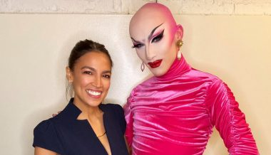 This Is The Left: AOC Promotes Drag Queen Vampire's Occult Show