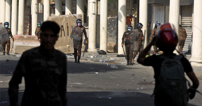 Over A Dozen Iraq Protesters Shot Dead In Last 48 Hours; Military Bans Use Of Live Ammo