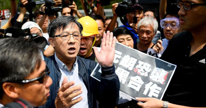Video: Pro-Beijing Lawmaker Stabbed in Hong Kong