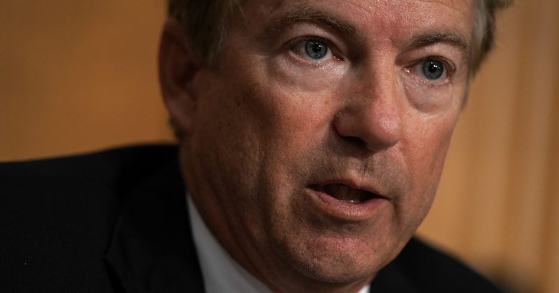Rand Paul: 'Subpoena Whistleblower, He May Be Involved In Corrupt Ukraine Dealings'