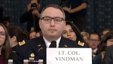 War Heroes Bash Lt. Col. Alexander Vindman: 'Operative,' 'Disgrace'