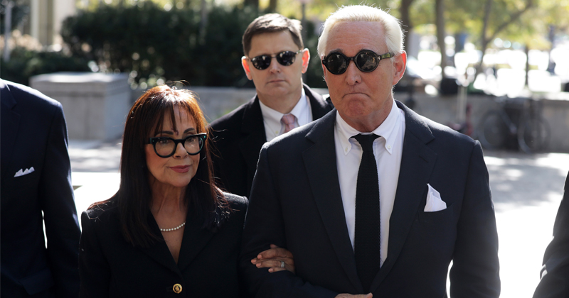 Roger Stone Faces Deep State Court in DC Swamp