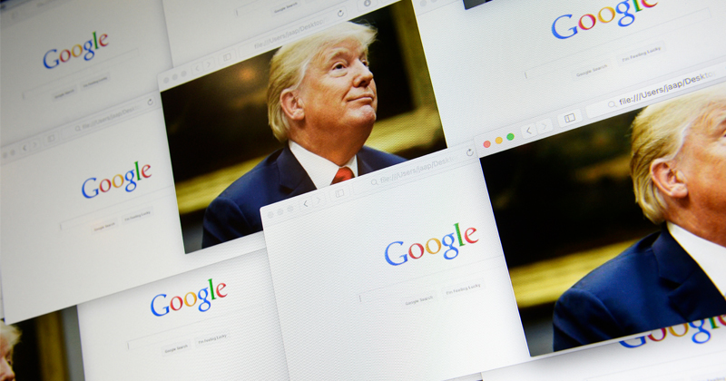 Trump Must Seize Domains of Google, Twitter, Facebook, YouTube to Stop Censorship
