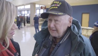 WWII Vet Praises Trump: 'First Real President In My 96 Years'