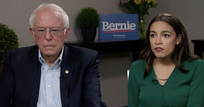 Bernie Sanders: AOC Will Play 'Very Important Role' In White House If I'm Elected