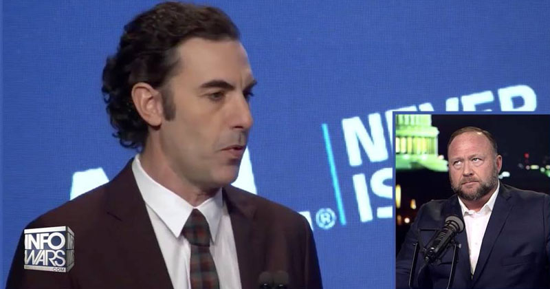 "Sacha Baron Cohen Calls For Global Free Speech ""Purge"" and ADL Takeover of All Social Media"