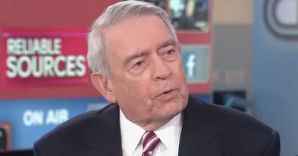 Serial Liar Dan Rather: 'Truth Is Closing In' on Trump -- And He Runs a CULT!