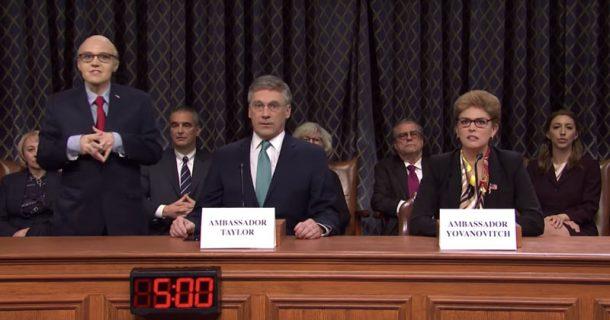Video: 'Saturday Night Live' Mocks Democrats' 'Boring' Impeachment Hearings