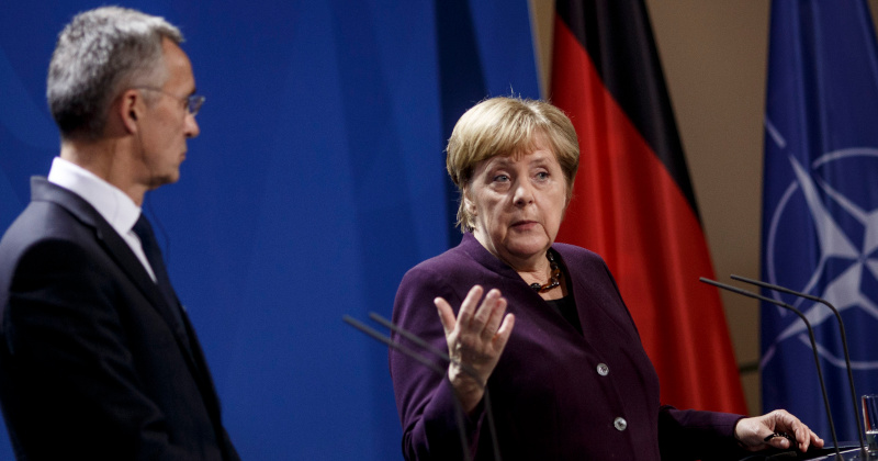 Merkel Vows to Hit NATO Spending Mandate 'By the 2030s'