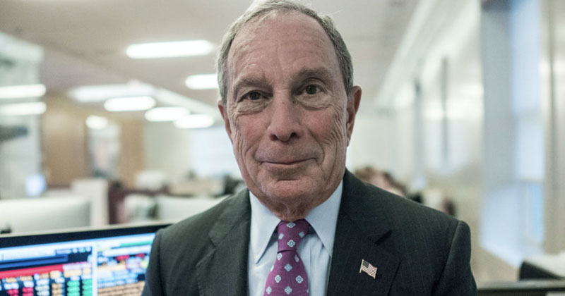 Bloomberg News Announces No Investigative Reporting On Michael Bloomberg -- Or Any Democrat Candidates