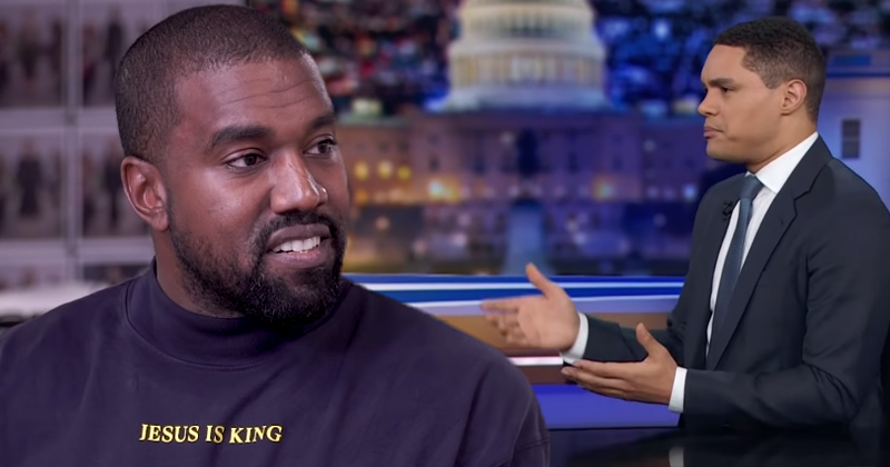 Trevor Noah Trashes Kanye West's Attempts to Awaken Black Community