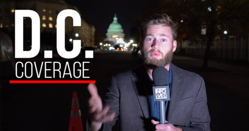 Live Updates: Infowars On The Ground In D.C. For Roger Stone Trial & More