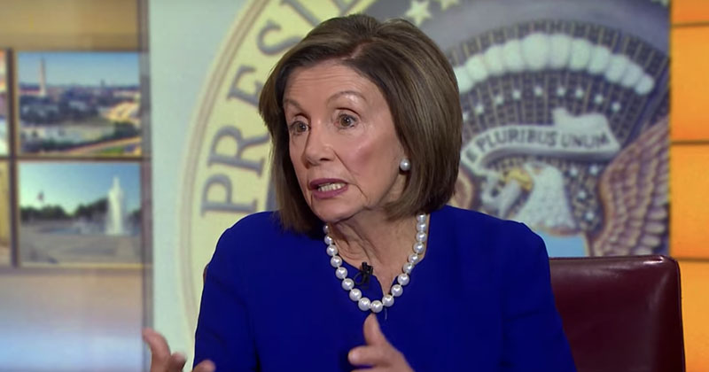 "What Planet Is She On? Pelosi Calls Impeachment ""Bipartisan"""