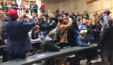 University Apologizes After Student Mob Storms Economist's Lecture