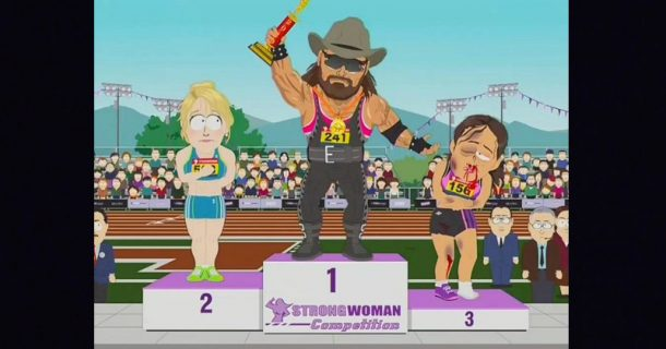 Trans Athlete Destroys Female Competitors in New South Park