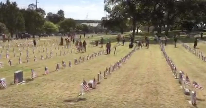 Livestream: Patriots Gather To Honor The Veterans at Texas State Cemetery