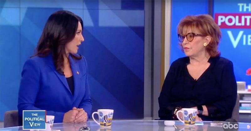 Joy Behar Defends Hillary Clinton, Calls Tulsi A Russian Asset -- Immediately Gets Schooled