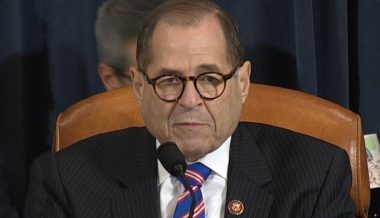 Rep. Nadler Almost Falls Asleep During Impeachment Hearing