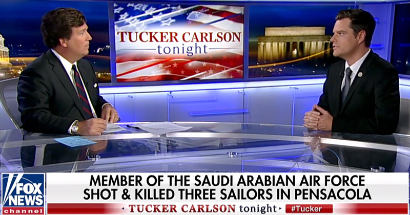 Tucker Carlson & Matt Gaetz Expose Saudi Involvement In 9/11