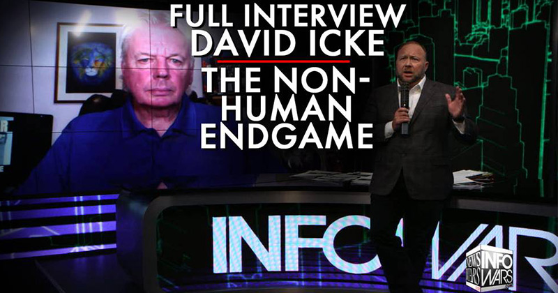David Icke Lays Out The Non-Human Endgame