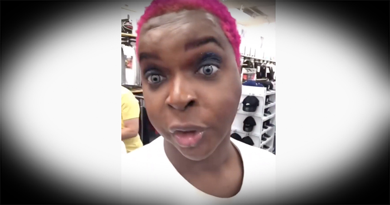 """Transgender Says """"I'm A Man,"""" Before Threatening To Fight Shoe Store Employee For Calling Him """"Sir"""""""