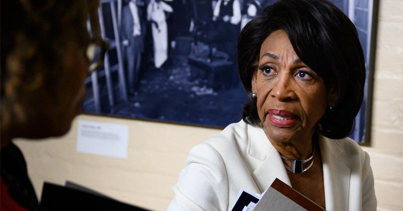 Maxine Waters Faces Dissatisfaction From Progressive Freshman Democrats