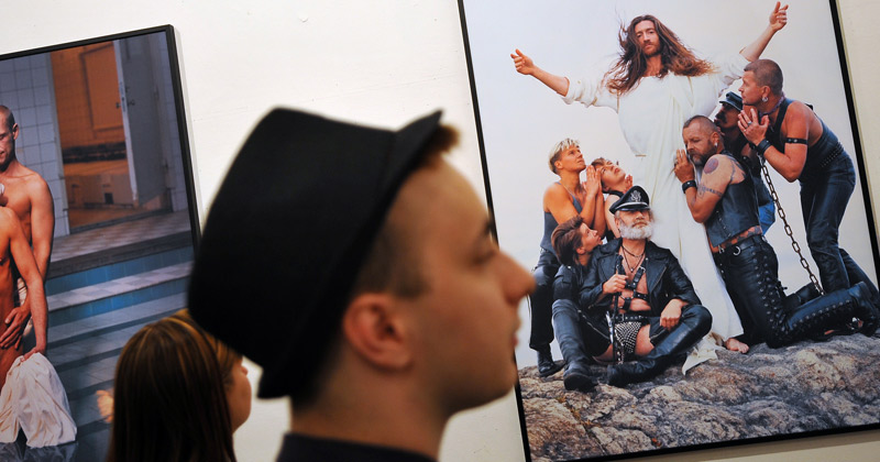 Church of Sweden unveils altarpiece of paradise featuring gay couples and transgender serpent