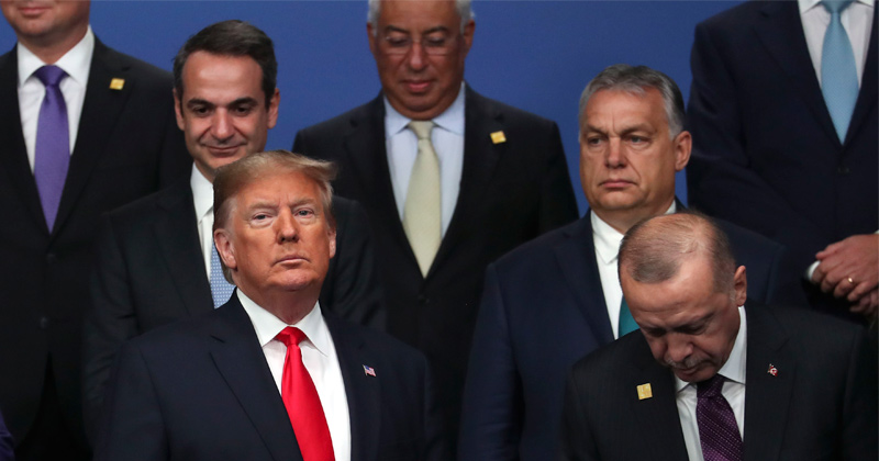 Trump cancels final NATO press conference after tense and troubled summit