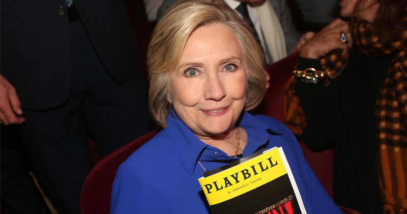 Hillary hints at Trump grudge match, proving the Democrats are approaching political extinction