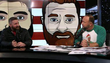 Drinkin' Bros Podcast - Alex Jones Returns!