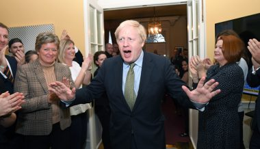 Watch Live: Populism Rising as Boris Johnson Destroys Socialist Party in UK Elections