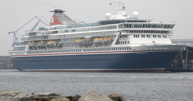 City Official Wants Cruise Ship to House Homeless
