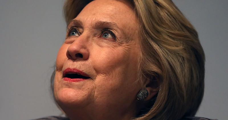 Hillary Celebrates Trump Impeachment Coup